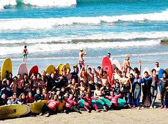 Reserva tu plaza en Escuela de Surf Las Dunas