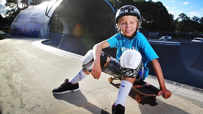 Keegan Palmer 11 años y promesa mundial
