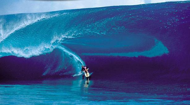 Teahupoo paraíso del Surf