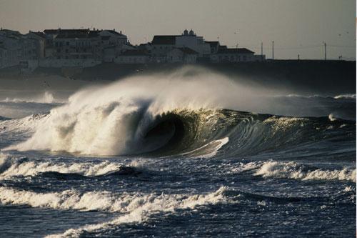 Peniche, Portugal.Final del viaje