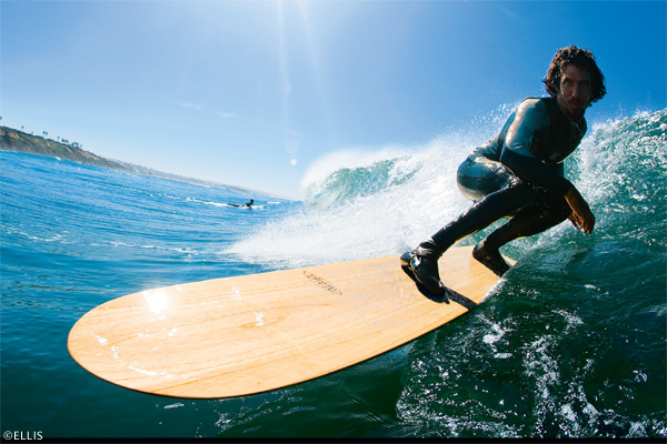 Surf Alaia, puro espíritu