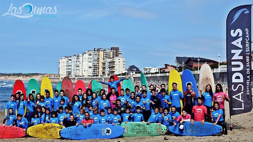 Foto del SurfCamp de Semana Santa