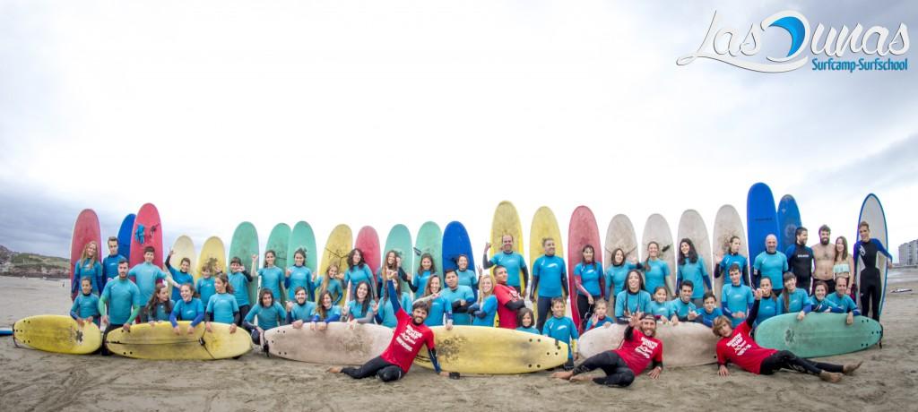 Escuela de Surf Las Dunas.