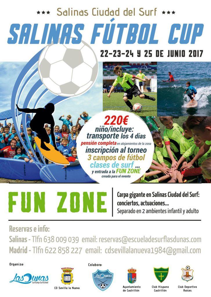 Cartel Salinas Futbol Cup
