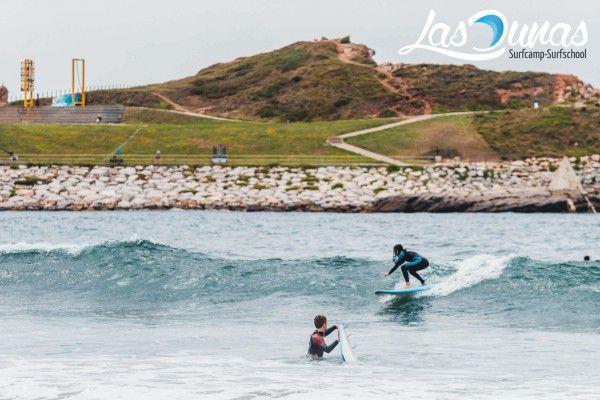 Surf en Salinas, 3 km de playa.