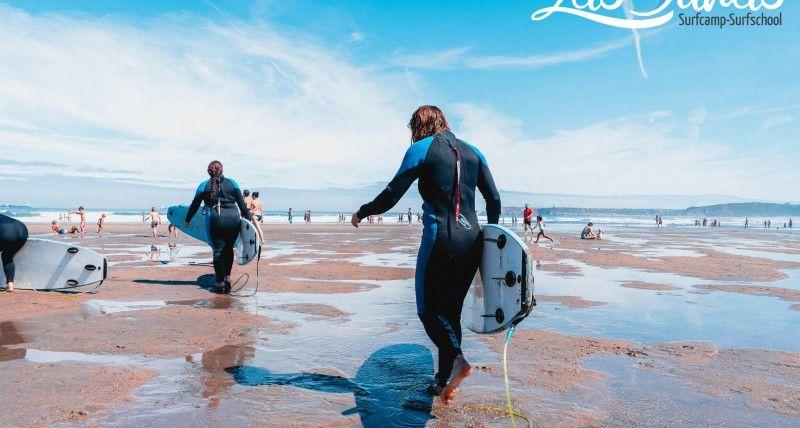 Surfcamp Semana Santa Escuela de surf Las dunas.