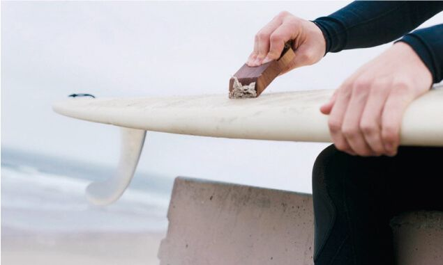 Lenguaje del surf wax