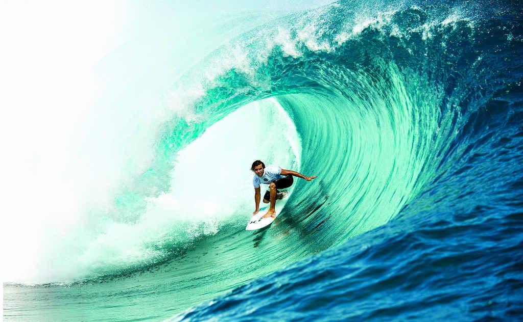 5 claves para tubos en el surf