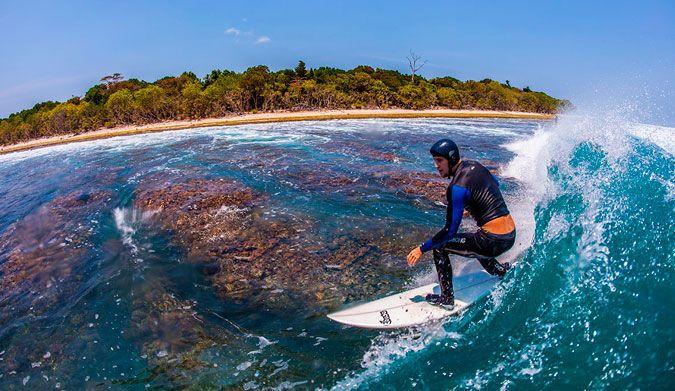 5 lesiones habituales en el surf laceraciones