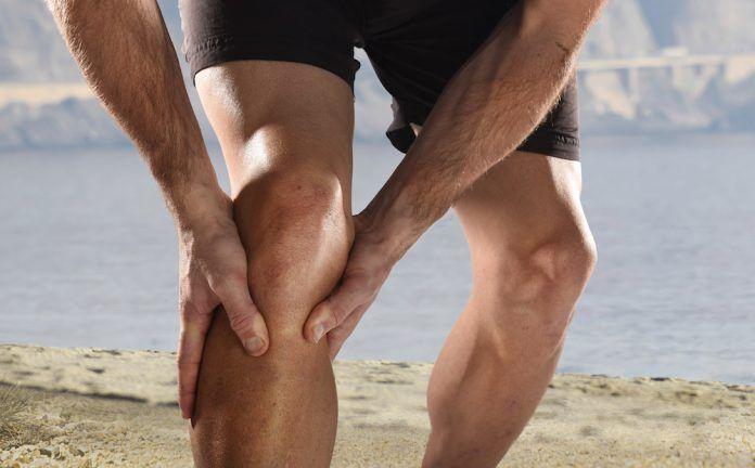 5 lesiones habituales en el surf esguince de rodilla
