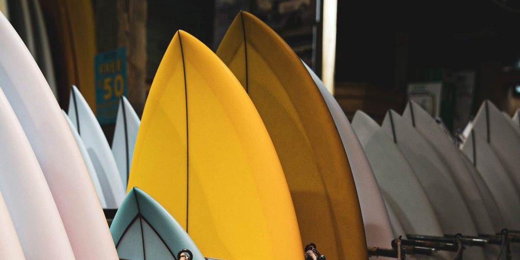 tabla de surf de segunda mano