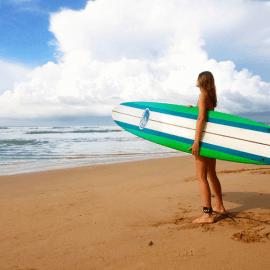 Tablas longboard de surf