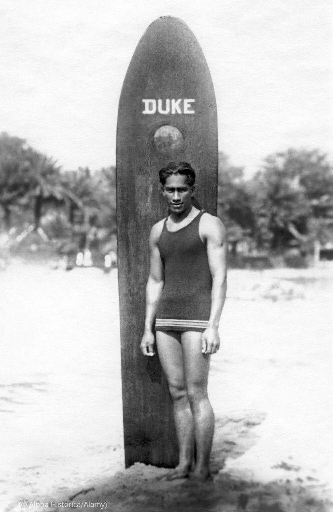 Surf y las olimpiadas duke kahanamoku