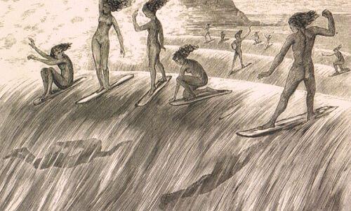 Surf y las olimpiadas historia